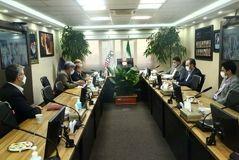 نشست رئیس هیات عامل ایمیدرو با جمعی از اعضای انجمن سرب و روی