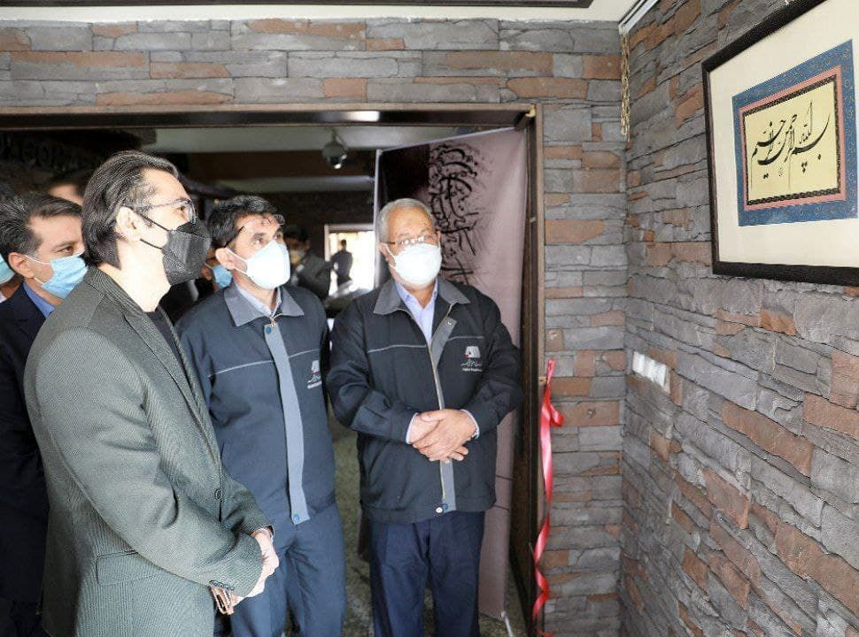 برگزاری نمایشگاه آثار خوشنویسی در مجتمع گلگهر