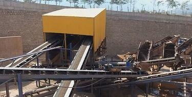 رعایت مسائل زیست محیطی معادن مرزن آباد با تکنولوژی/ درختکاری پس از برداشت معدن