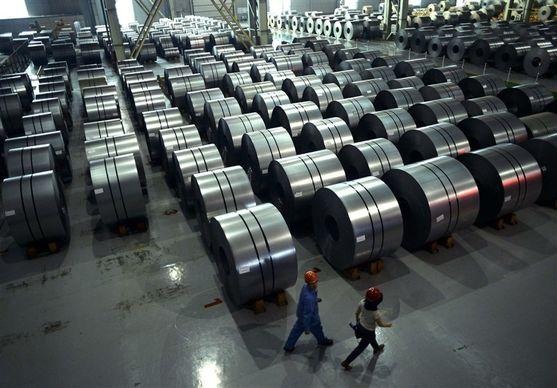 افزایش چشم گیر صادرات فولاد با وجود کاهش تولید