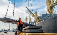 رشد ۴۸ درصدی صادرات فولاد ایران در نیمه نخست ۱۴۰۰