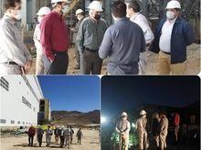 بازدید مدیرعامل شرکت مس از دو طرح مهم تولید کنسانتره مس