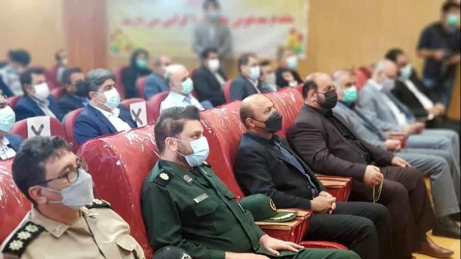 تقدیر از مدیرعامل فولاد اکسین خوزستان در آئین بزرگداشت روز آتش نشان و شهید علی لندی
